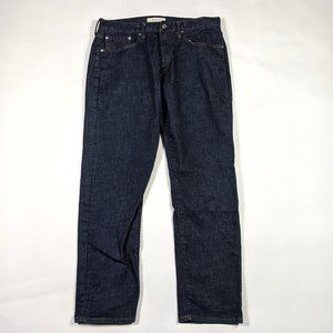 Gap 1969 Athletic Fit 33 X 30 Resin Rinse Jeans